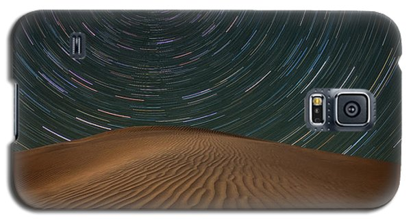 Galaxy S5 Case featuring the photograph Alone On The Dunes by Darren White