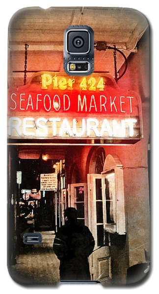 Galaxy S5 Case featuring the photograph Along Bourbon Street - New Orleans by Glenn McCarthy Art and Photography