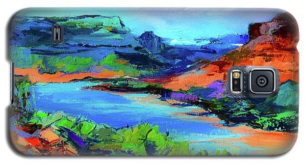 Along Colorado River - Utah Galaxy S5 Case