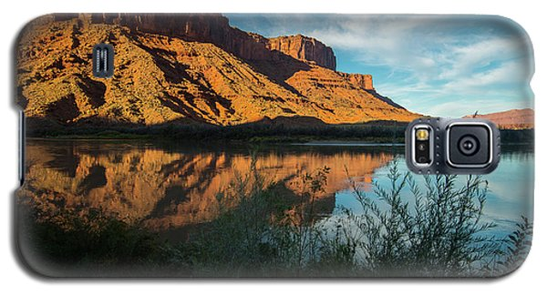 Galaxy S5 Case featuring the photograph Along The Colorado by Gary Lengyel