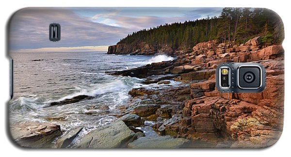 Galaxy S5 Case featuring the photograph  Along The Maine Coastline by Stephen  Vecchiotti