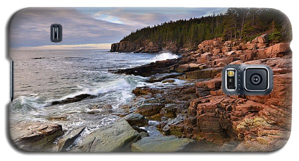 Along The Maine Coastline Galaxy S5 Case by Stephen  Vecchiotti