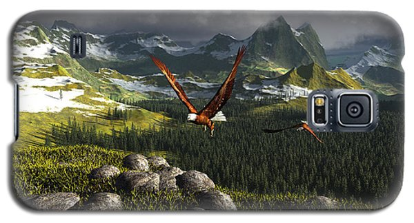 Along The Pinnacles Of Time Galaxy S5 Case