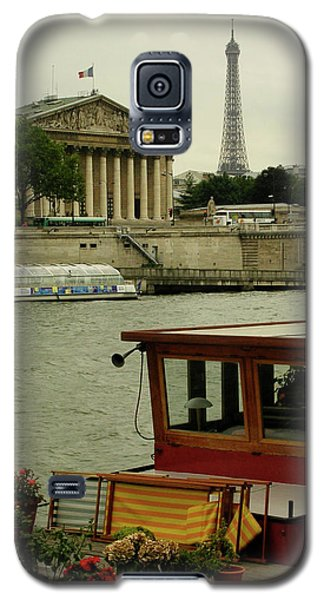Along The Seine Galaxy S5 Case