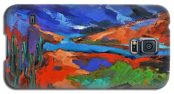 Along The Trail - Arizona Galaxy S5 Case by Elise Palmigiani