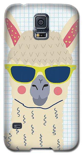Alpaca Galaxy S5 Case by Nicole Wilson