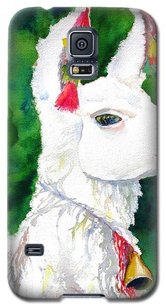 Alpaca With Attitude Galaxy S5 Case by Carlin Blahnik
