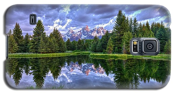 Alpenglow In The Tetons Galaxy S5 Case