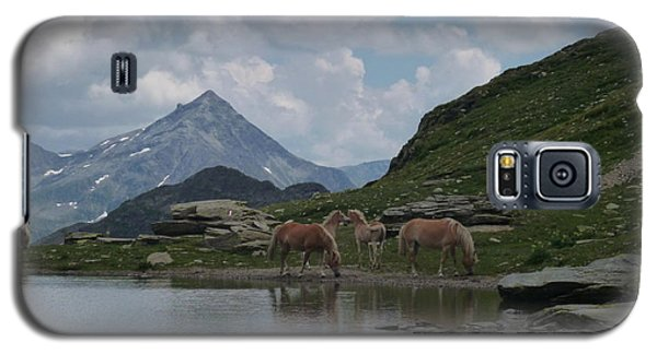 Alps' Horses Galaxy S5 Case
