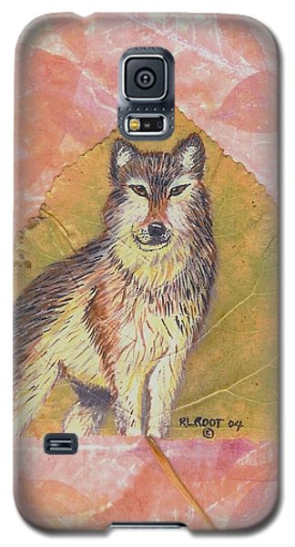 Alpha Male On Natural Leaf Galaxy S5 Case