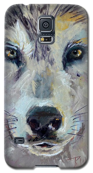 Galaxy S5 Case featuring the pastel Alpha by Pattie Wall