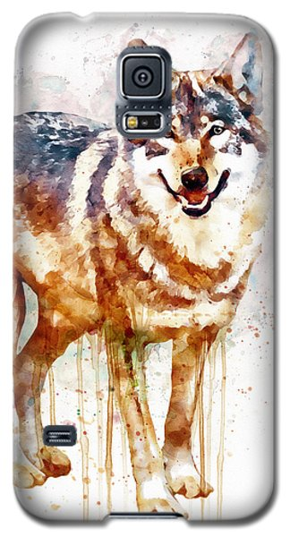Alpha Wolf Galaxy S5 Case by Marian Voicu