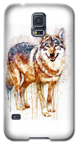 Alpha Wolf Galaxy S5 Case by Marian Voicu