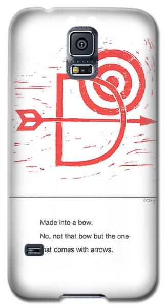 Alphabet Haiku Letter D Galaxy S5 Case