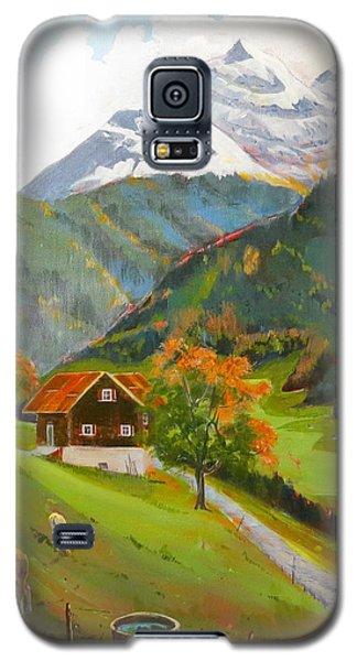 Alpine Farm Near Buerglen In Canton Uri Galaxy S5 Case