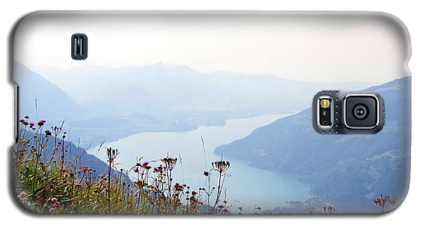 Alpine Flora On Top Of Schynige Platte Galaxy S5 Case