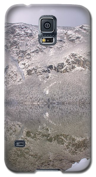 Galaxy S5 Case featuring the photograph Alpine Winter Reflections by Ian Middleton