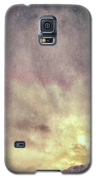 Galaxy S5 Case featuring the photograph Alps With Dramatic Sky by Silvia Ganora