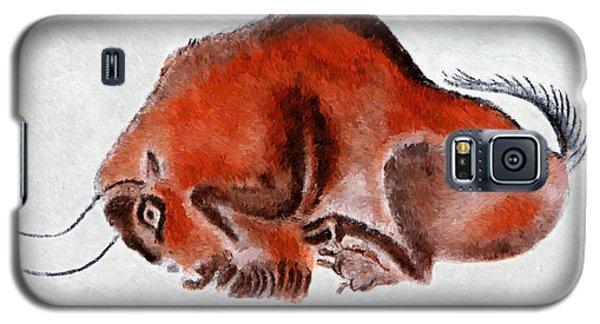 Altamira Prehistoric Bison At Rest Galaxy S5 Case