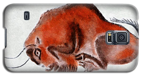 Altamira Prehistoric Bison At Rest Galaxy S5 Case