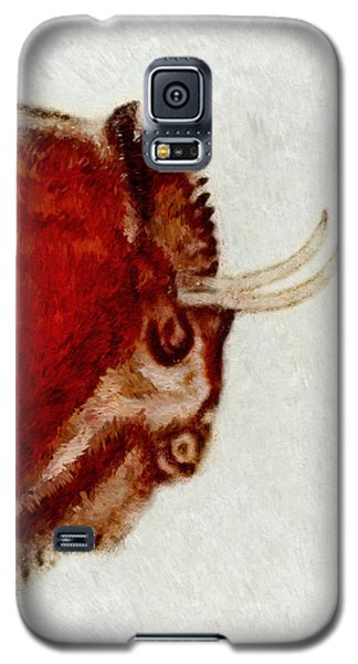Altamira Prehistoric Bison Detail Galaxy S5 Case