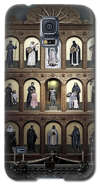 Altar Screen Cathedral Basilica Of St Francis Of Assisi Santa Fe Nm Galaxy S5 Case