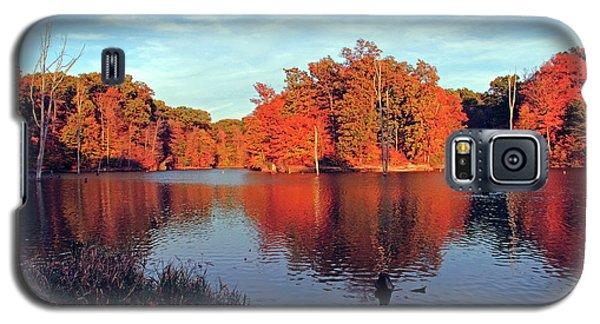 Alum Creek Landscape Galaxy S5 Case by Angela Murdock