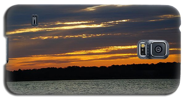 Alum Creek Sunset Galaxy S5 Case