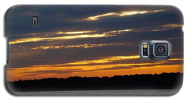 Alum Creek Sunset Galaxy S5 Case