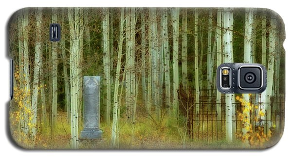 Galaxy S5 Case featuring the photograph Alvarado Cemetery 41 by Marie Leslie