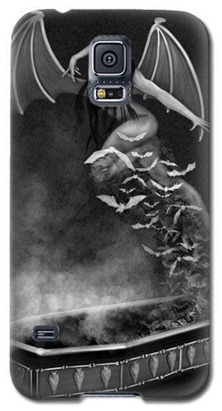 Always Awake - Black And White Fantasy Art Galaxy S5 Case