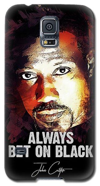 Movie Galaxy S5 Case - Always Bet On Black - Passenger 57 by Dusan Naumovski