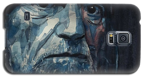 Galaxy S5 Case featuring the painting Always On My Mind - Willie Nelson  by Paul Lovering