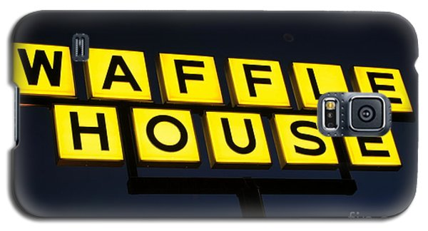 Always Open Waffle House Classic Signage Art  Galaxy S5 Case