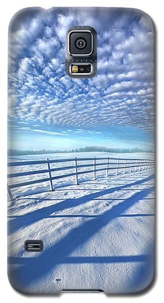 Galaxy S5 Case featuring the photograph Always Whiter On The Other Side Of The Fence by Phil Koch