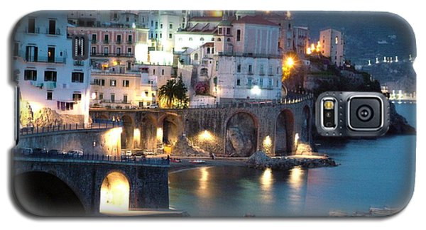 Amalfi Coast At Night Galaxy S5 Case