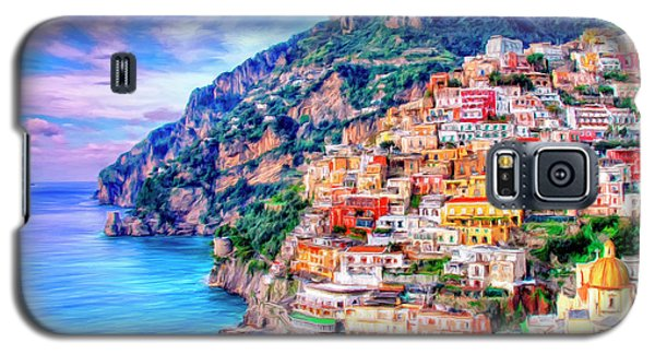 Amalfi Coast At Positano Galaxy S5 Case by Dominic Piperata