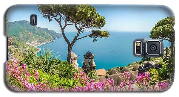 Amalfi Coast From Villa Rufolo Gardens In Ravello, Campania, Ita Galaxy S5 Case