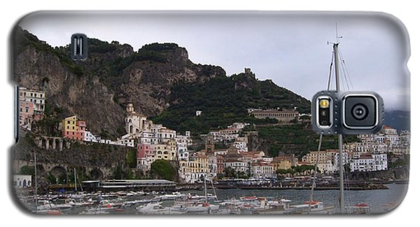 Galaxy S5 Case featuring the photograph Amalfi Coast by Judy Kirouac