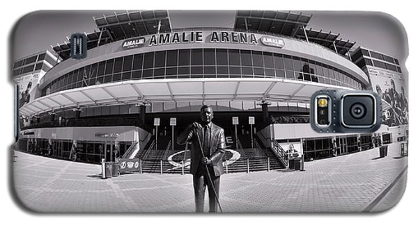 Amalie Arena Black And White Galaxy S5 Case