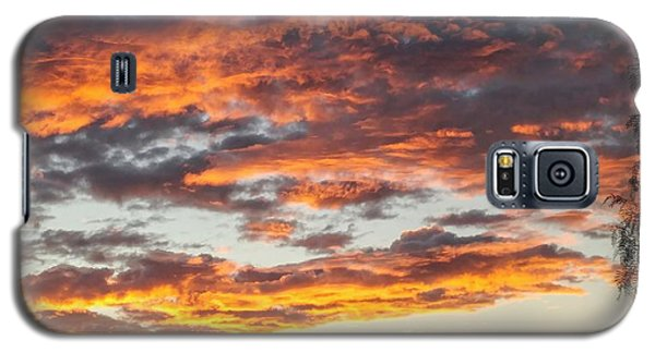 Clouds On Fire Galaxy S5 Case