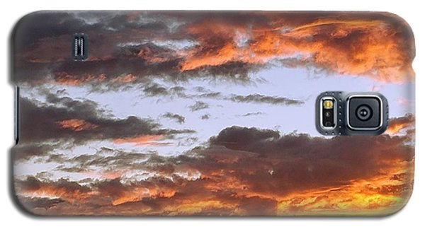 Glorious Clouds At Sunset Galaxy S5 Case