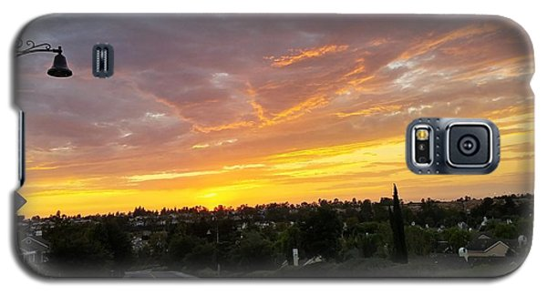 Colorful Sunset In Mission Viejo Galaxy S5 Case