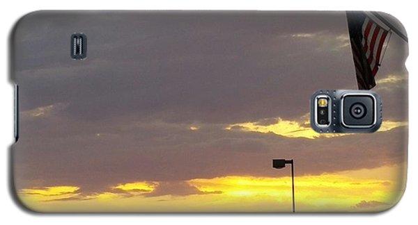 Patriotic Sunset Galaxy S5 Case