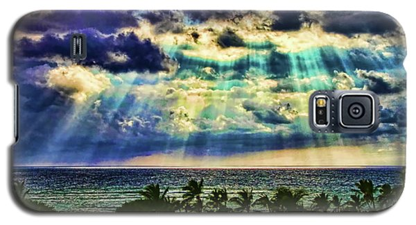 Amazing Grace - Sun Rays Before Sunset By Diana Sainz Galaxy S5 Case