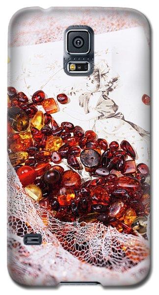 Galaxy S5 Case featuring the photograph Amber #8925 by Andrey  Godyaykin
