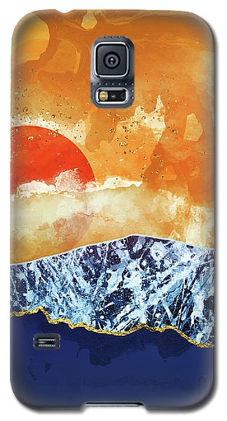 Landscapes Galaxy S5 Case - Amber Dusk by Katherine Smit