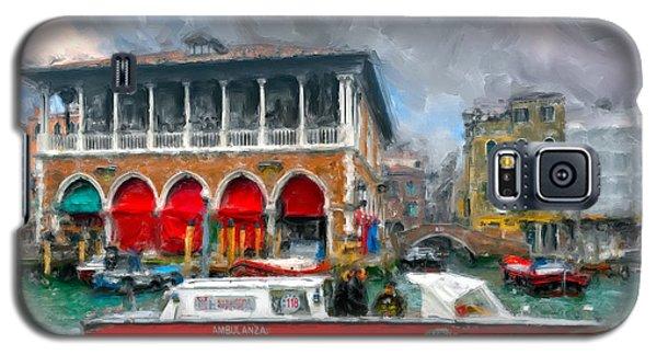 Galaxy S5 Case featuring the photograph Ambulanza. Venezia by Juan Carlos Ferro Duque