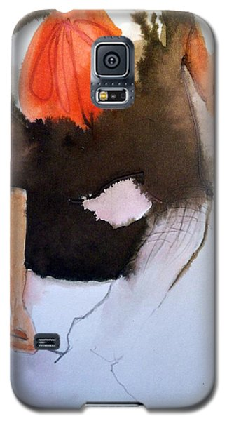 Galaxy S5 Case featuring the painting Amelie by Ed  Heaton