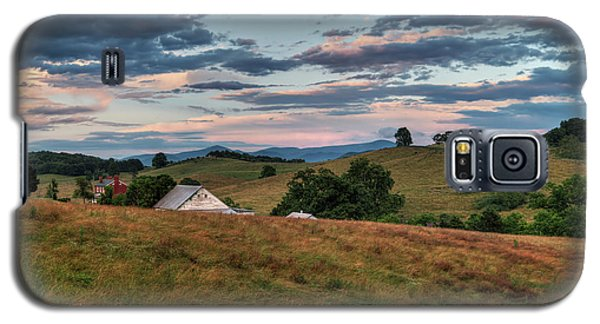 Galaxy S5 Case featuring the photograph America - Hills Of Virginia 001 by Lance Vaughn